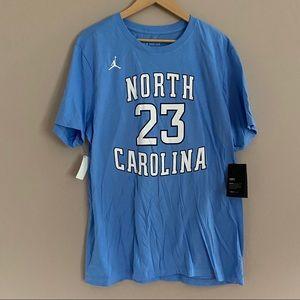 NWT Nike North Carolina Michael Jordan Tee